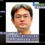 【顔画像あり】わいせつ医師・須原靖明容疑者のfacebookは?年収は?セクハラは日常的か?東京警察病院