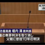 【実の娘に性的暴行】1審無罪も2審で逆転有罪!!父親に懲役10年の判決!!愛知県名古屋市